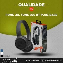 Headphone JBL T500Bt - Branco , Preto ou Azul