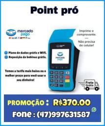 Máquininha de cartão de crédito e débito