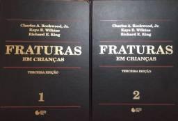 Livro Fraturas em Crianças vol.1 e 2