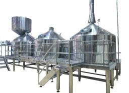 Cervejaria industrial tribloco 1000 litros