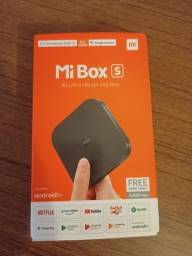 Xiaomi Mi Box S de voz 4K 8GB preto com memória RAM de 2GB