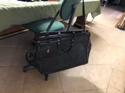 Bolsa de viagem couro Datelli