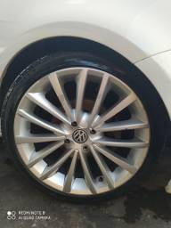 Vendo aros,rodas 17 com pneus novos valor 2499