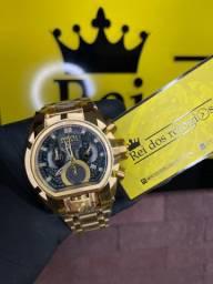Título do anúncio: Relógio Magnum bolt fundo preto novo