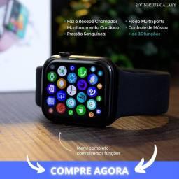 Smartwatch X8 Relógio inteligente / Faz ligação / Medidores cardíaco / pressão arterial