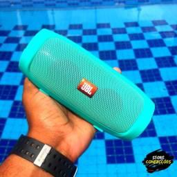 Caixinha de Som Charge 3 JBL Mini Bluetooth SD Pen Drive Rádio FM