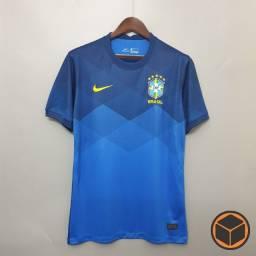 Título do anúncio: Camisa Seleção Brasileira Away 20-21