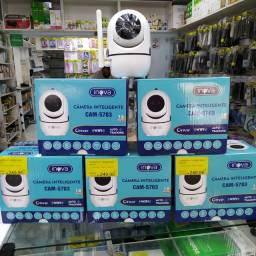 Câmera inteligente wifi