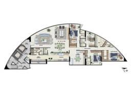 Título do anúncio: Excelente Cobertura duplex no Pina com 535 metros quadrados com 6 Suítes com Piscina Priva
