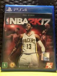 Jogo para PS4 usado, NBA 2K17