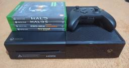 Título do anúncio: Xbox One 1tb + 4 Jogos De Brinde