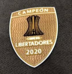 patch campeão libertadores 2020 palmeiras