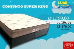 Título do anúncio: Conjunto super king 193×203