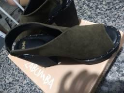 Sandália Salto Grosso Zabumba!