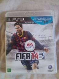 FIFA 14, FIFA 13 e PES 2012 para PS3