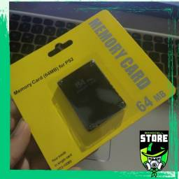 Memory Card 64mg Com Programas Ps2