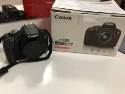 Canon T7 + lente 50mm 1.8