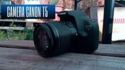 Título do anúncio: Camera dslr canon t5
