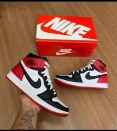 Tênis Bota Nike Air Jordan 1 Chicago Retro*