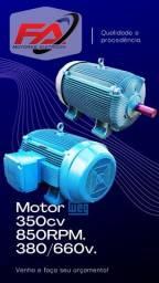 Título do anúncio: motor elétrico weg 350 cv 850 rpm. mod 355