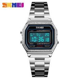 Relógio feminino SKMEI - Prata