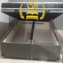 Cama box baú Bipartida