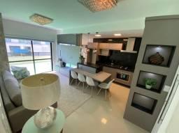 Título do anúncio: Apartamento com terraço dois dormitórios de frente mobiliado e decorado estuda imóvel e pr
