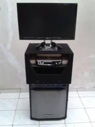 Locação de videokê / karaoke