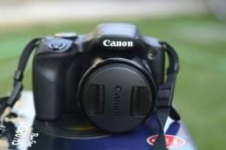 Vendo Câmera Cânon Semiprofissional Power Shot SX 520 HS