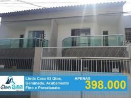 Linda Casa Duplex 3 Qtos c/ Ste Em Colina de Laranjeiras
