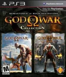 Vendo ou troco God of war 1e2 ps3