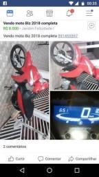 Quero compra uma moto parcelada de 5x