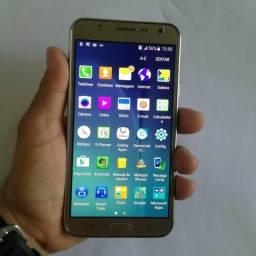 Galaxy J5 Dourado 16GB-4G-2 chip-para desapegar hoje