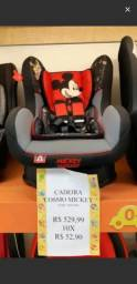 Cadeira pra carro mickey