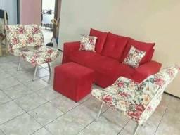 Super promoção de sofás entrega imediata 85 98910.0795 Roberta