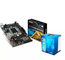 Placa mãe h110+Pentium g4560 melhor custo beneficio