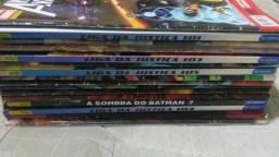 Revistas marvel e DC