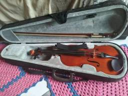 Violino 4/4 em perfeito estado de conservação parcelo no cartão