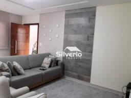 Sobrado com 3 dormitórios à venda, 125 m² por R$ 540.000,00 - Jardim Alvorada - São José d