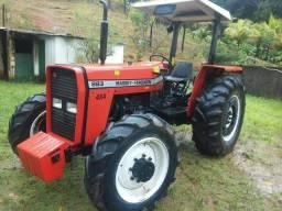 Vendo Trator Massey Ferguson 283 4X4 Ano 2001