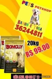 Racao Bomguy Premium 20kg 99,00