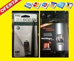 PROmoÇÂO: Adaptador Wireless Usb 1200mbps