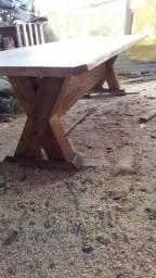 Mesas rústicas para a sua edícula NOVAS