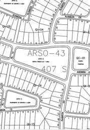 407 sul arso 43, terreno ,registrado , ótima localização.whats 63 98449 6762