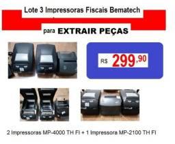 Impressora Fiscal Bematech R$ 299,00 em 12 Vezes