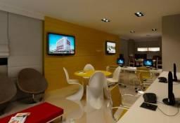 Salas comerciais na Jatiúca, 54 m² com até 2 banheiros privativos, a partir de 373mil!