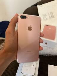 IPhone 7plus rose gold 32 gigas