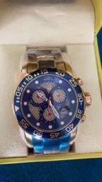 Relógio Invicta Pro Diver Lançamento Dourado a prova d'água