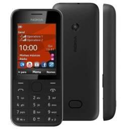 Celular para idosos Nokia 208 2 Chips 3.5G Novo na Caixa