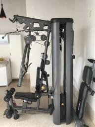 Estação de musculação profissional semi nova